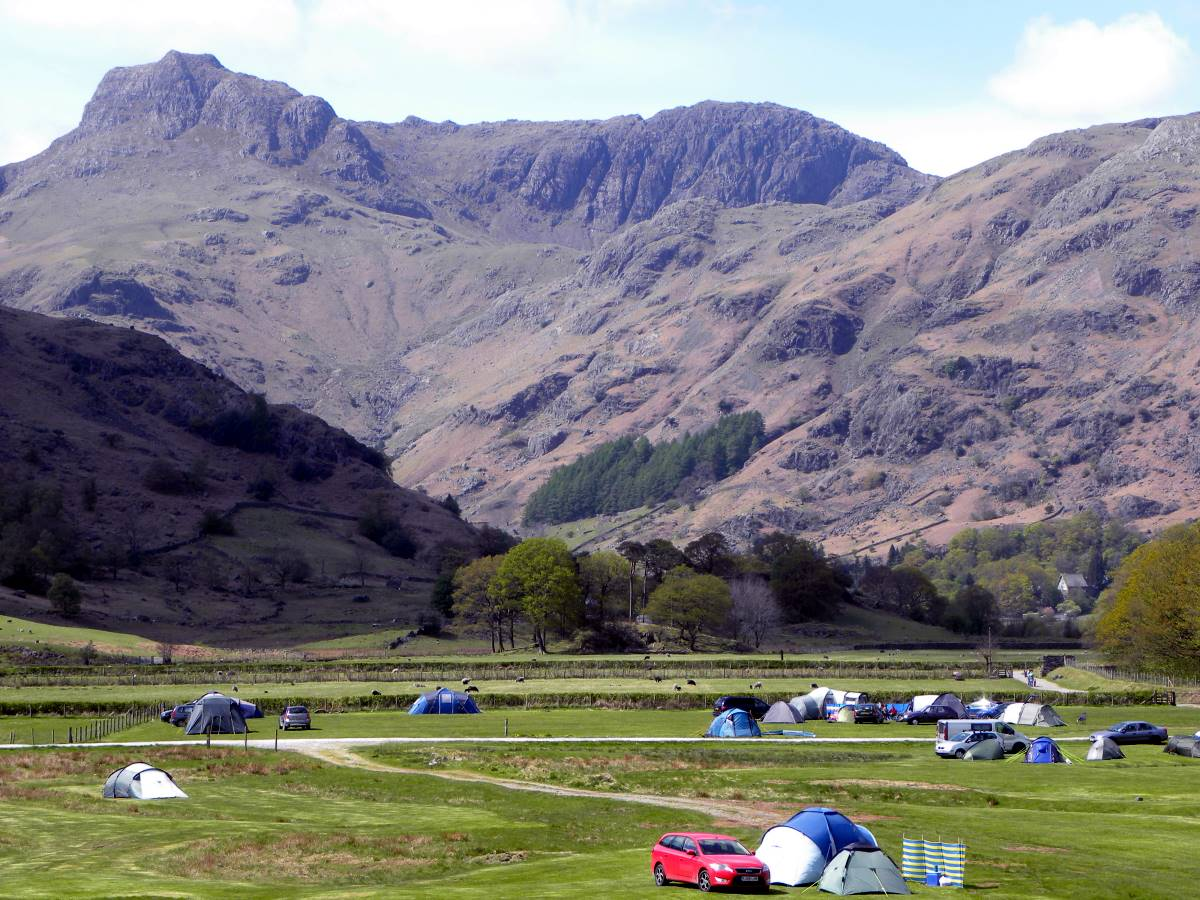 Baysbrown Farm Campsite Langdale, Cumbria